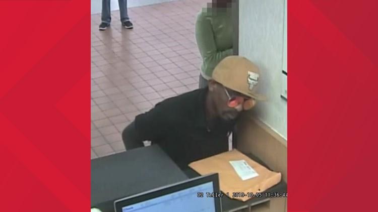 Overland bank robbery suspect