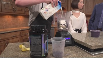 Recipe of the Day: Blueberry Protein Smoothie