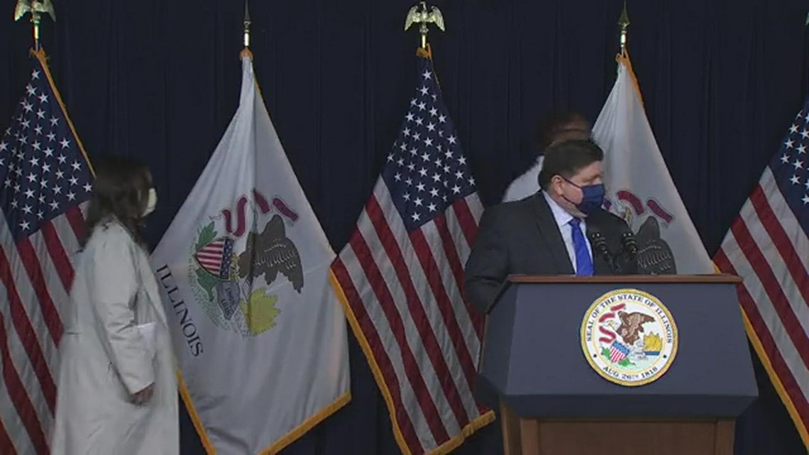 Illinois Gov. Pritzker on plan to fully reopen