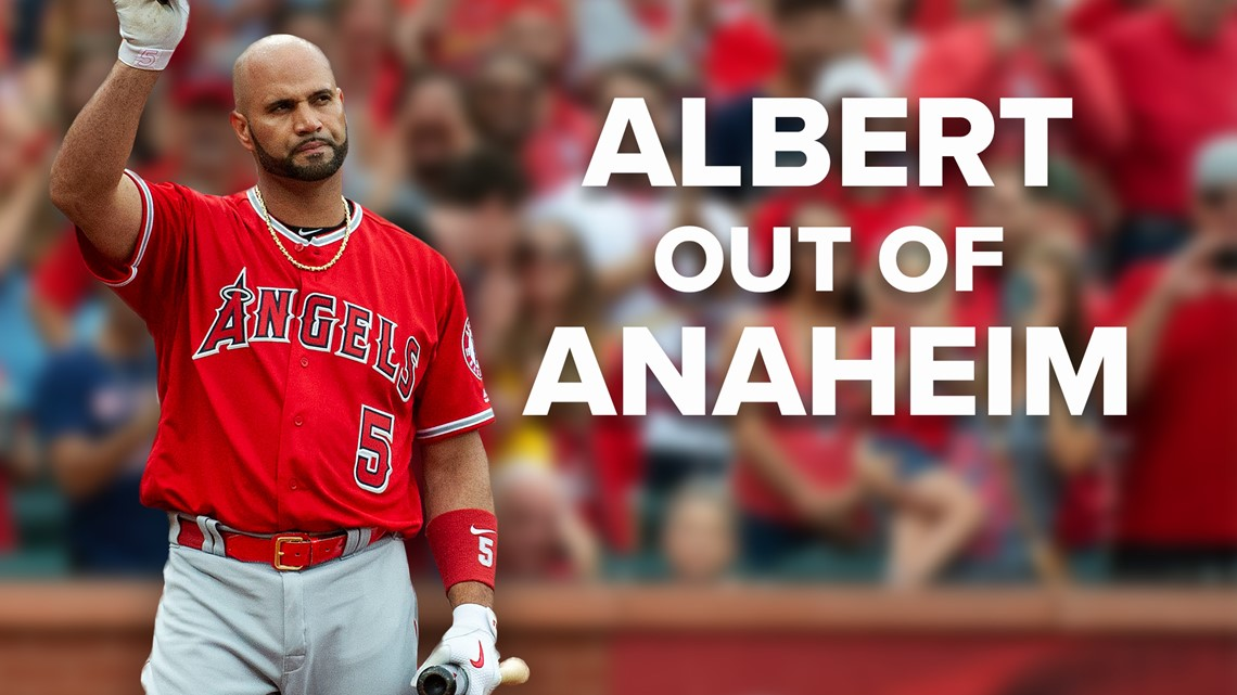 Albert Pujols designated for assignment by Angels
