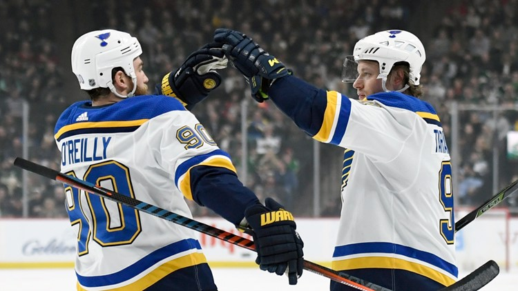 Blues going for 12th win in a row in game against the Dallas Stars