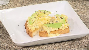 Recipe of the Day: Spicy Cottage Cheese, Egg & Avocado Toast