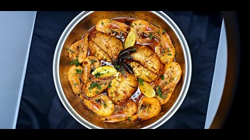 Recipe of the Day: Creole Prawns in a Creole White Wine Sauce