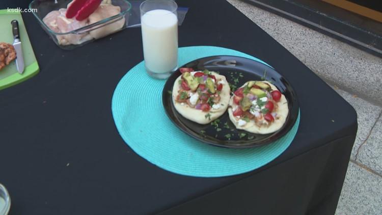 Recipe of the Day: Yogurt Marinated Chicken with Naan