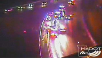 1 dead, 1 critically injured in single-car crash on I-64 early Sunday morning