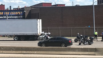 2 men killed in crash on I-44/I-55 at 7th Street exit near downtown