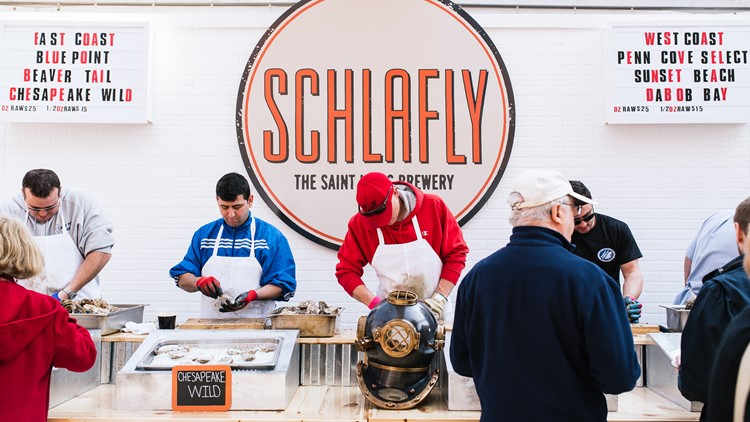 Welcome to the 'Shuckerdome': Schlafly Beer to host 20th annual Stout and Oyster Festival
