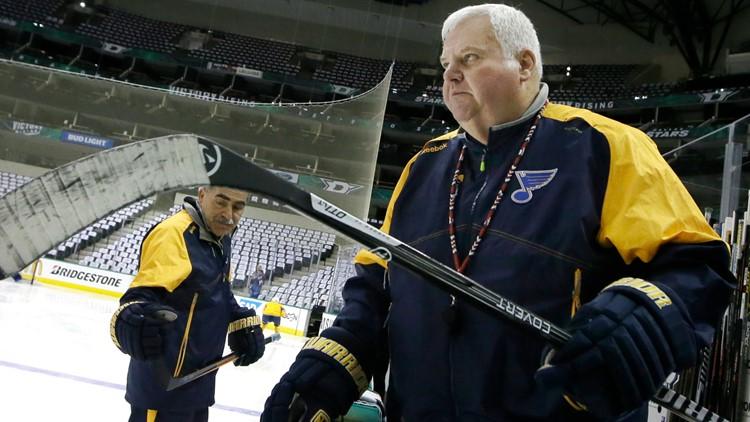 Blues promote Peter Chiarelli, Ken Hitchock returns as coaching consultant