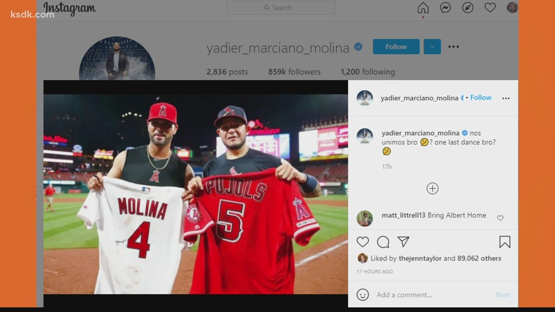 What to make of Yadi's Instagram appeal to Pujols
