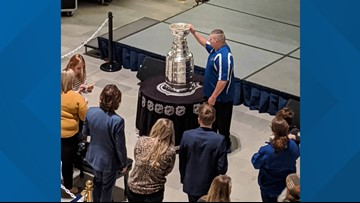 The Stanley Cup visits the Missouri State Capitol