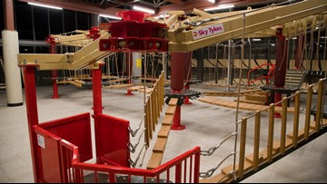 Photos: An inside look at Union Station's ropes course