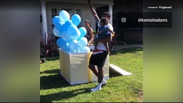 Bradley Beal, Kamiah Adams announce they're having another boy