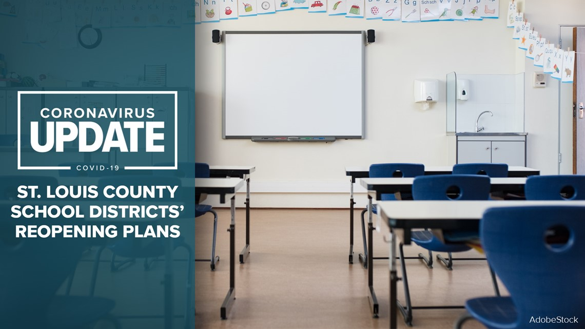 St Louis County School Districts Reopening Plans Ksdk Com