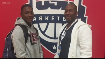 'He's better than me': Former SLU star Luther Burden finds new motivation in his son