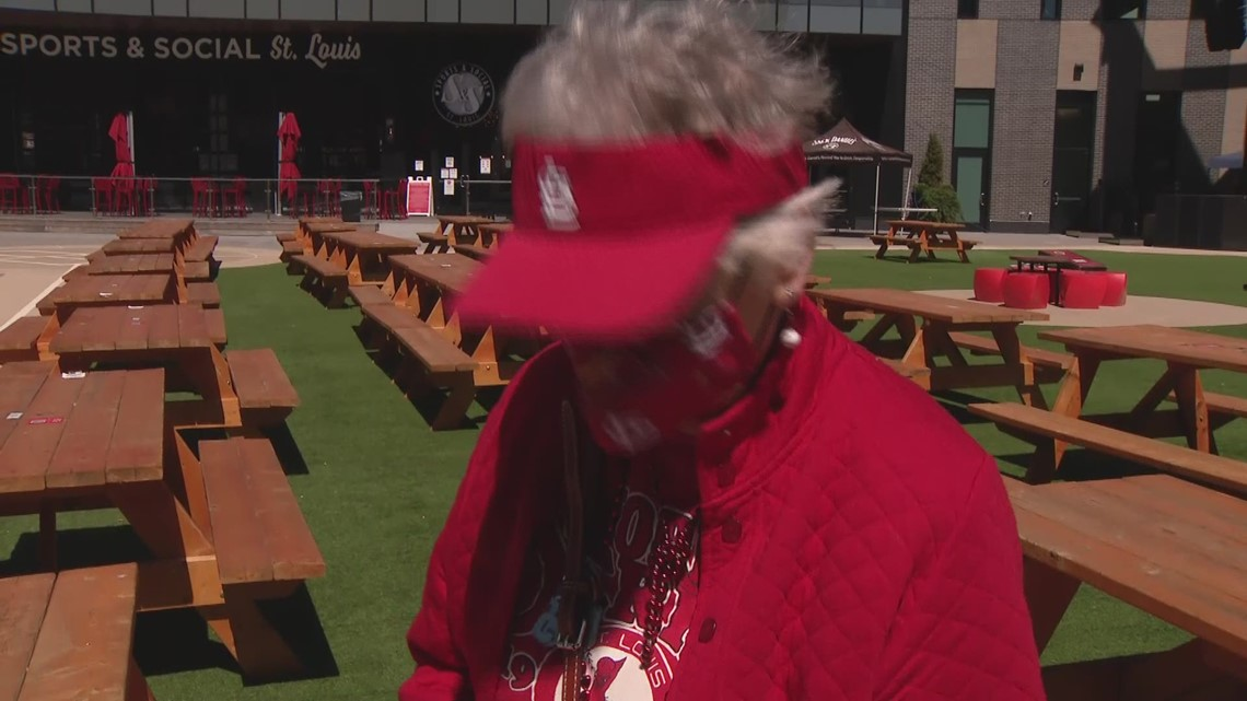 Cardinals super fan Jan Daniels attends 64th Opening Day in St. Louis with help from family and team ownership