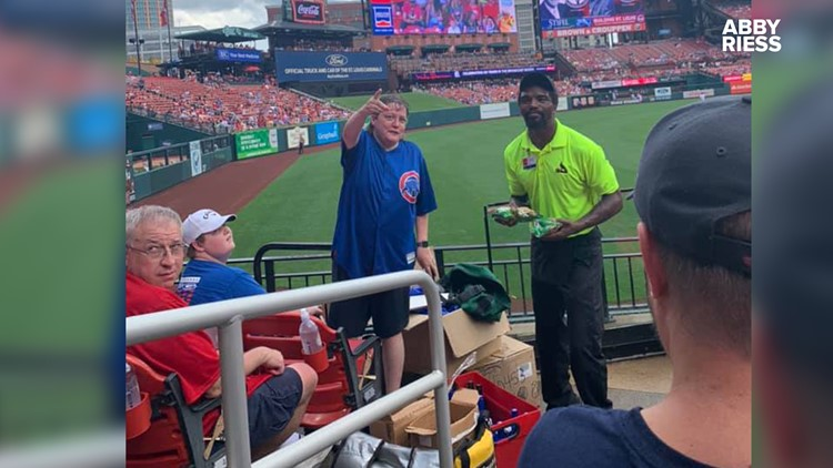 We tracked down the mystery Cubs fan spreading generosity at Cardinals games