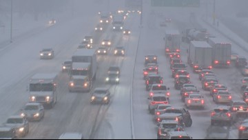 Interstates in St. Louis area reopen Saturday morning, some roads still partly covered