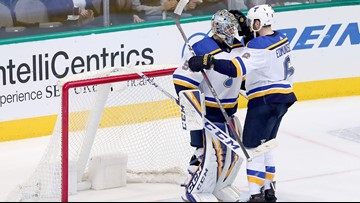 Rookie Binnington picks up 3rd win, Blues beat Stars 3-1