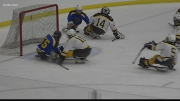 St. Louis hosts 10th Annual USA Hockey Sled Classic