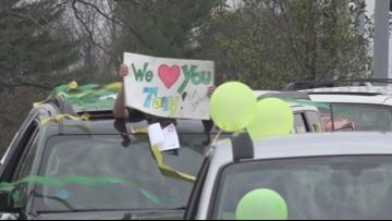 'Tony, you got this!' | Lindbergh throws parade to support No. 1 fan fighting COVID-19