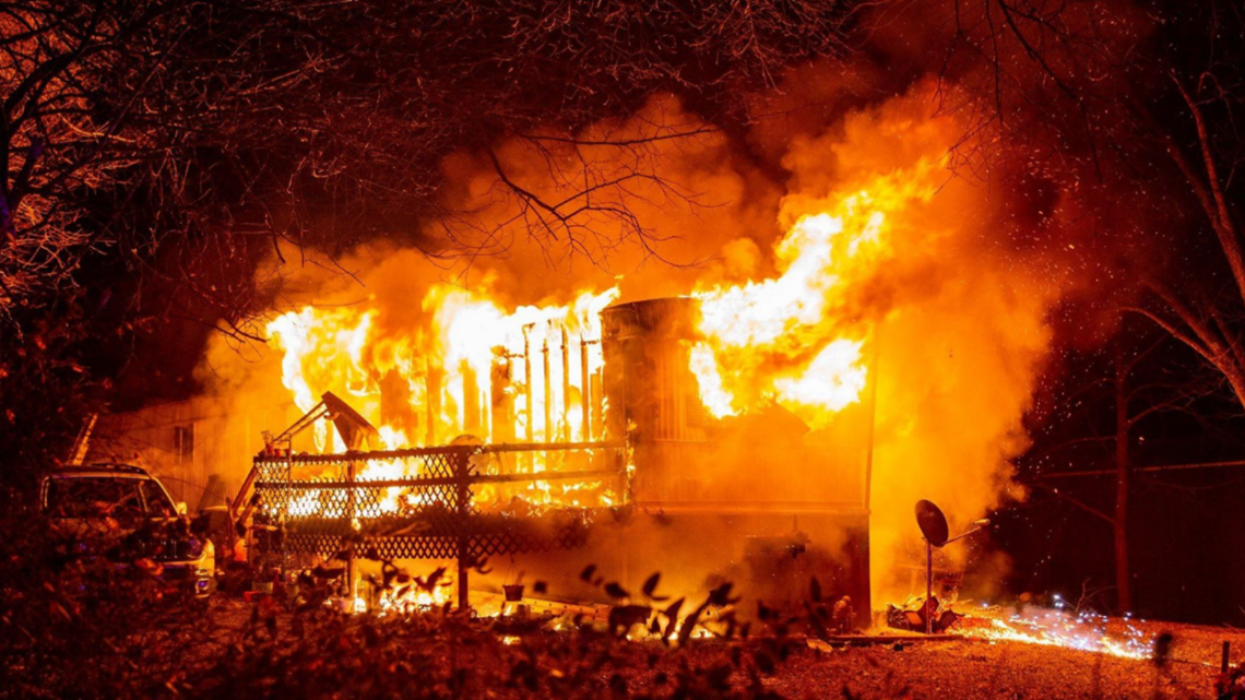 Man Found Dead Inside Mobile Home Fire In Moscow Mills