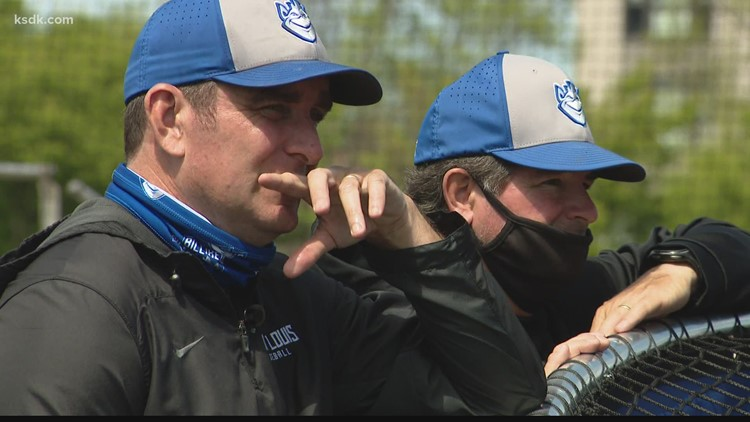 SLU head baseball coach Darin Hendrickson joins the 900-win club
