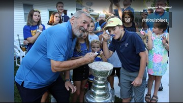 So St. Louis | Stanley Cup meets Ted Drewes
