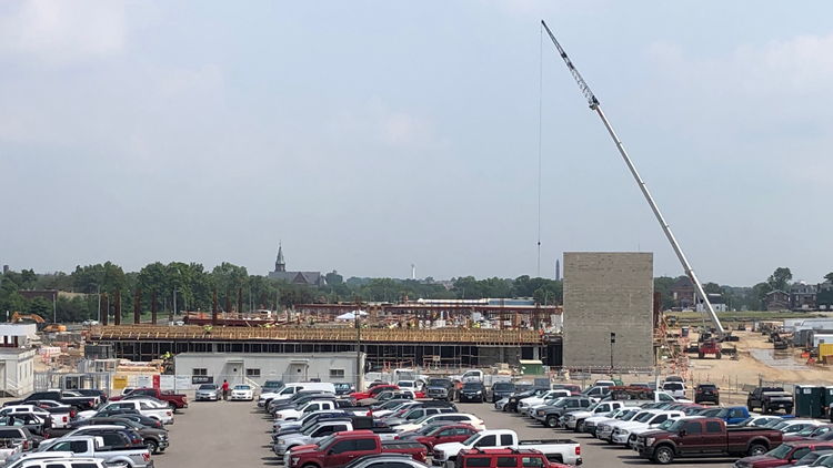 NGA construction takes shape in north St. Louis, stays on schedule