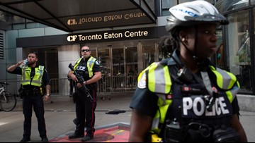4 people shot during Raptors championship rally