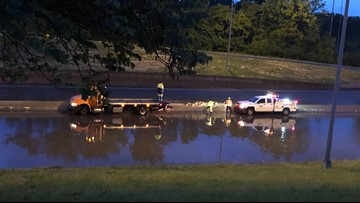 I-55 back open at Loughborough after water covers the highway