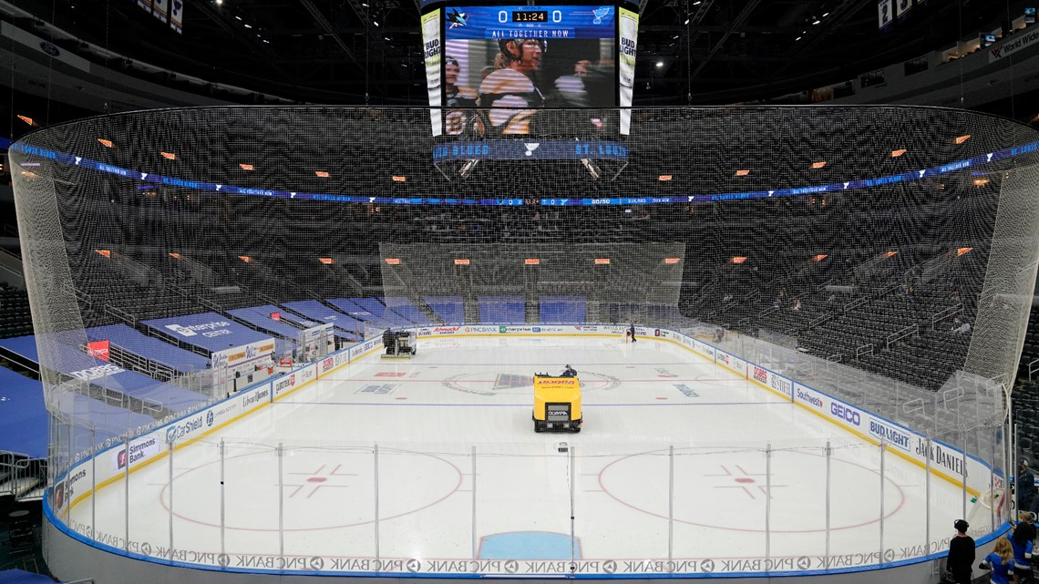 Blues to host Game 3 against Colorado at Enterprise Center Friday