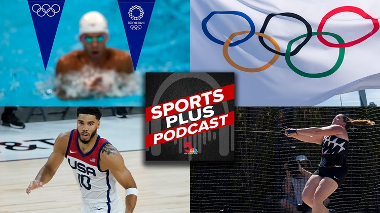 Sports Plus Podcast: Tokyo Olympics preview with Rene Knott and Casey Nolen