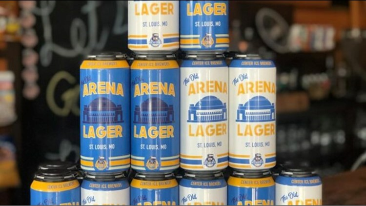 Old Arena Lager from Center Ice Brewery
