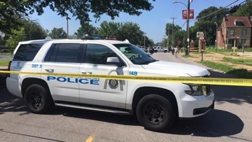 Police on scene of double shooting in St. Louis' Lewis Place neighborhood