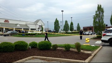 Police on scene of officer-involved shooting at Ladue Crossing Shopping Center