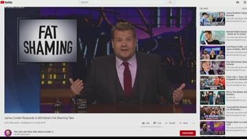 James Corden calls out Bill Maher's fat-shaming speech with personal rebuttal
