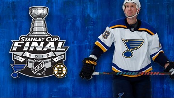 Blues' Bouwmeester is heading to his first Stanley Cup Final after 16 NHL seasons