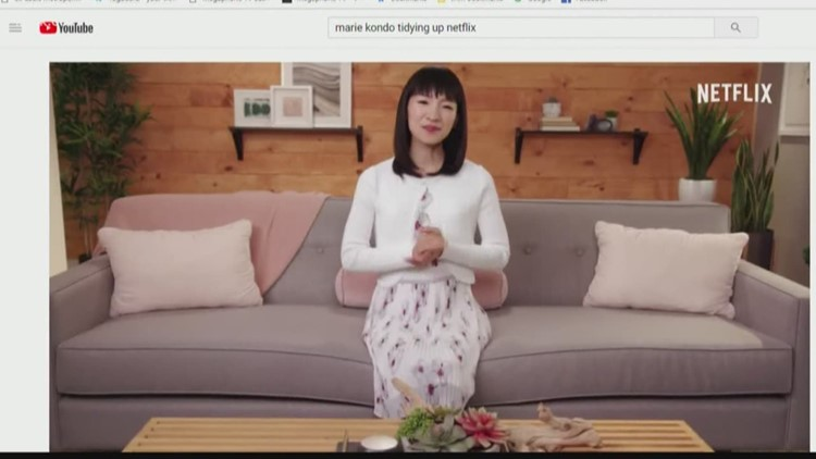 'Tidying Up with Marie Kondo' has people purging things that don't 'spark joy'
