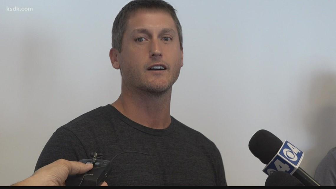 Hometown hero David Freese returns to Busch Stadium