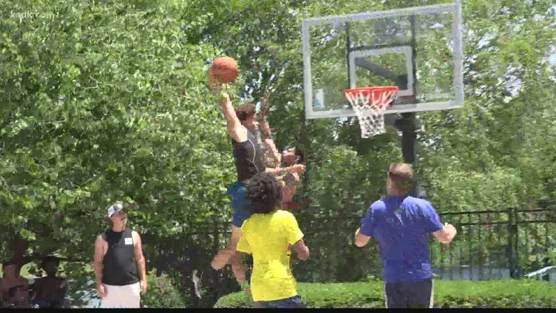 Metro East athletes host biggest summer backyard basketball tournament in area