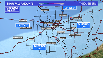 Storm Alert: When to expect snow, wintry mix and freezing temps in St. Louis