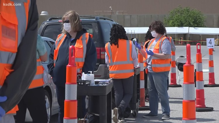 Drive-thru vaccines a big success in western St. Charles County