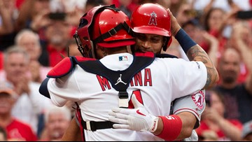 Albert Pujols and Yadier Molina are back together again