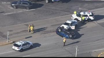Car dealer wants safety improvements where county PD crash happened Thursday