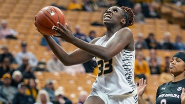 St. Louis native, Mizzou star Aijha Blackwell named to All-SEC Freshman Team