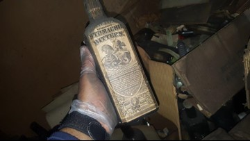 Metro East family discovers prohibition-era secrets in the attic