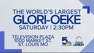 "Join the world's largest ""Glori-oeke"" party!"