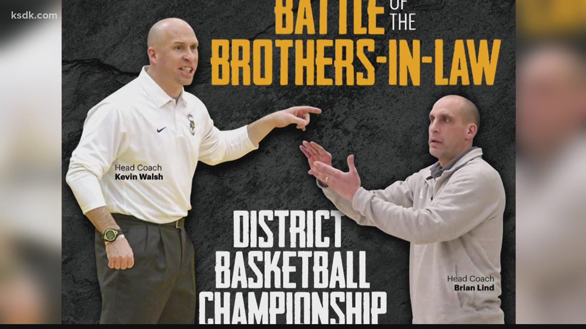 Brother-in-law's on opposing teams fight for district title