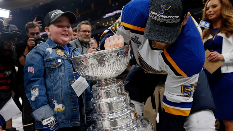 Stanley Cup Blues Bruins Hockey laila anderson colton parayko