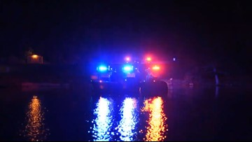 Watch: MSHP boats put on Fourth of July light show